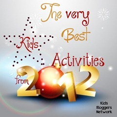 Best Kids Activities of 2012
