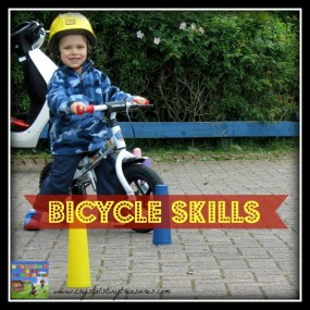Bike Skills for Beginners from Crystal's Tiny Treasures