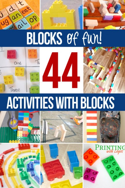 44 Block Activities for Preschoolers - hands on : as we grow