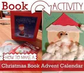 How to make a Christmas Book and Activity Advent Calendar