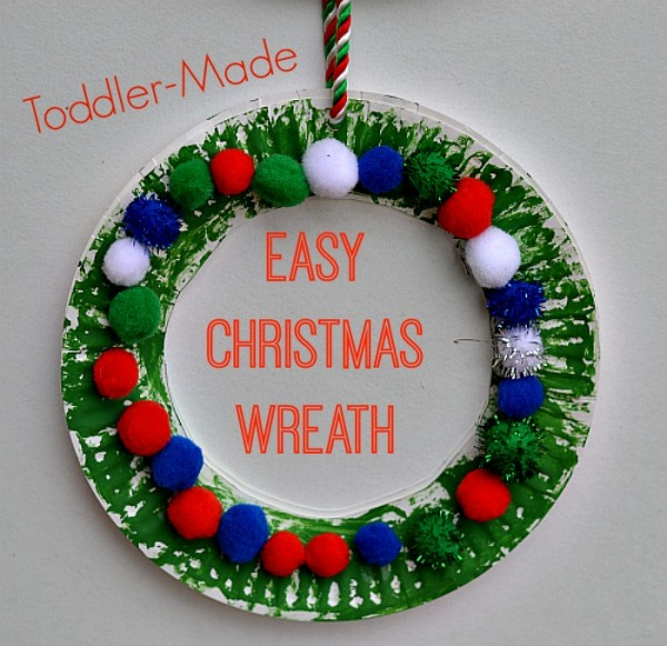 Christmas-crafts-for-kids-wreath