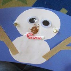 5 senses snowman
