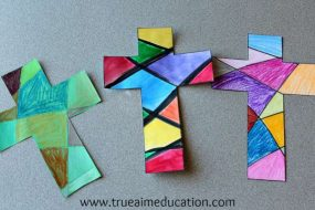 Easy Cross Craft from True Aim Education