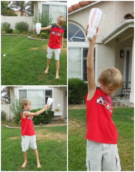 DIY Catch the Ball Game easy and fun way to play!