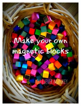 Make Your Own Magnetic Blocks from You Clever Monkey