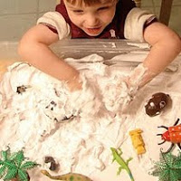Shaving Cream snow