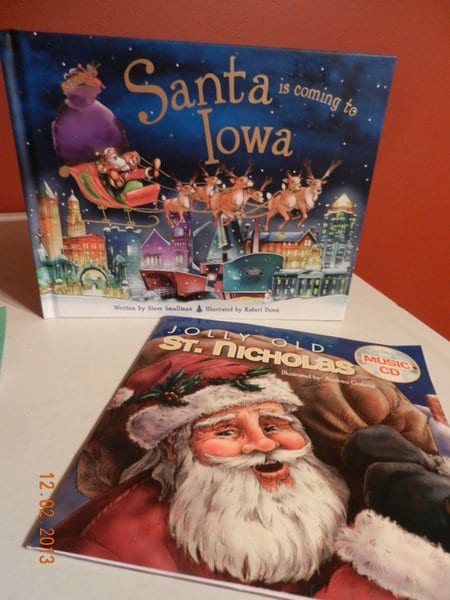 Christmas books for the activities advent calendar