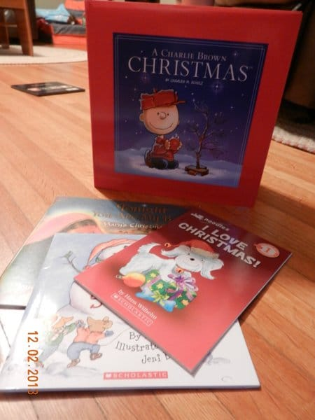 Christmas books to use for an activities advent calendar