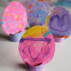 Easter Egg Table Toppers from Happy Hooligans