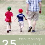 25 Fun Things to Do as a Family