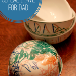 Decorate a Cereal Bowl for Dad