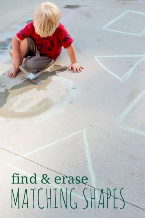 Find & Erase the Matching Shapes