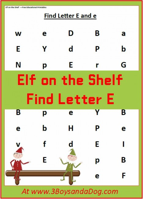 Find-the-Letter-E
