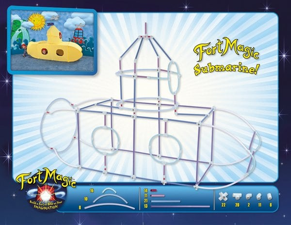 Fort Magic submarine fort