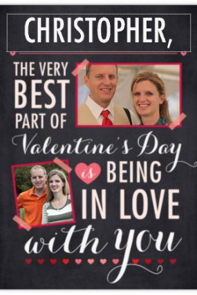 Personalized Valentine Cards