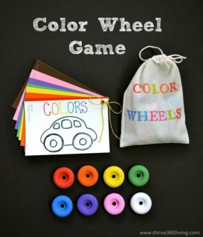 A Fun Color Matching Game from Thrive 360 Living
