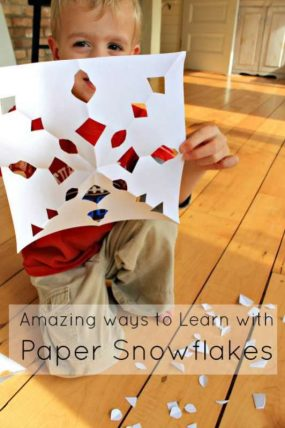 Snazzy & Simple Snowflake Symmetry for Kids