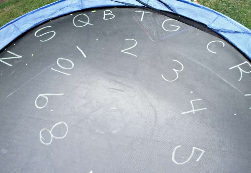 fun trampoline games for learning letters hands on as we grow. Black Bedroom Furniture Sets. Home Design Ideas