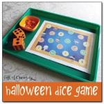 Halloween Dice Game Free Printable