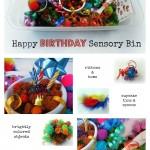 Happy Birthday Sensory Bin