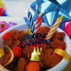 Happy Birthday Sensory Activity Bin