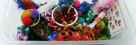 Happy Birthday Sensory Bin3