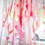 Turn Leftover Kids Art into Streamers