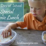 First Day of Preschool: Picnic Lunch