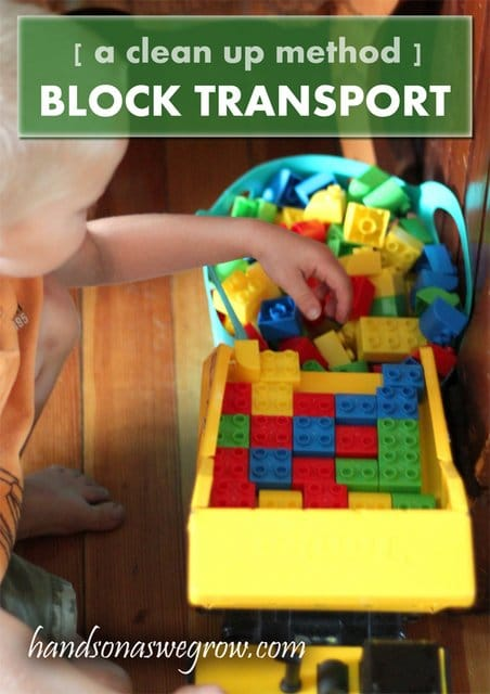 Clean up with a Blocks Transport