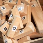 Recognizing & Building with Letter Blocks