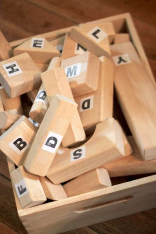 Letter Blocks to Learn with