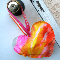 Kid-Made Valentine for School