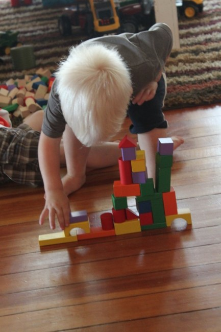 Listening Activity with Blocks