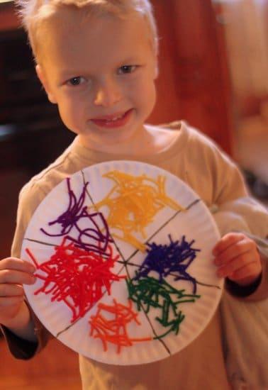 Preschool Craft Color Red