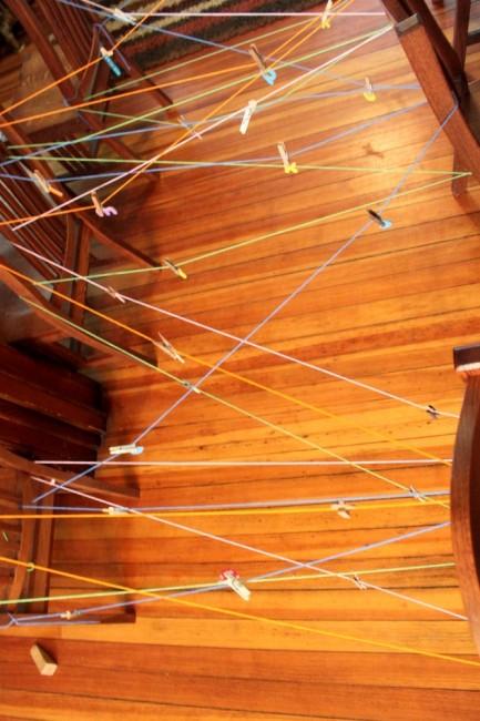 Lowercase Letters String Scavenger Hunt for Kids