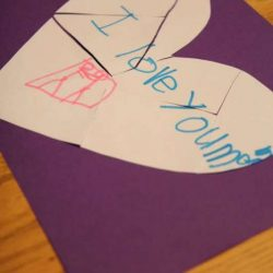 Love Note Puzzles - 1 of 10 non-flower crafts for mom