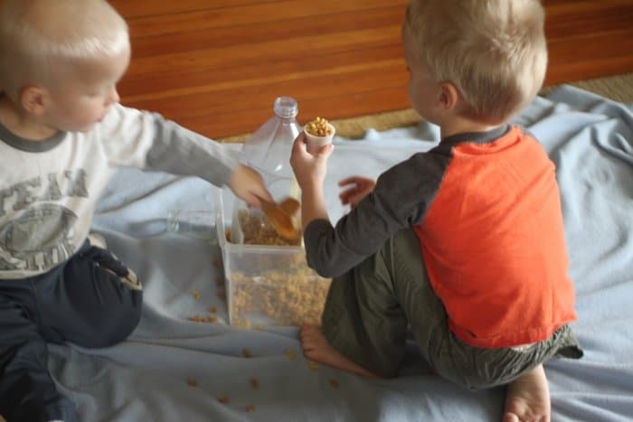 Pasta Noodle Sensory Activity