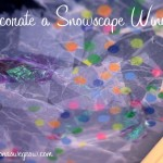 Decorate a Snowscape Window