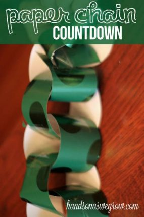 Paper Chain Countdown
