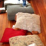 Gross Motor Activity for a Rainy Day: Walking on Pillows