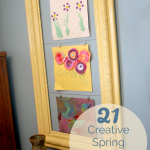 21 Colorful Spring Art Projects for Kids to be Creative