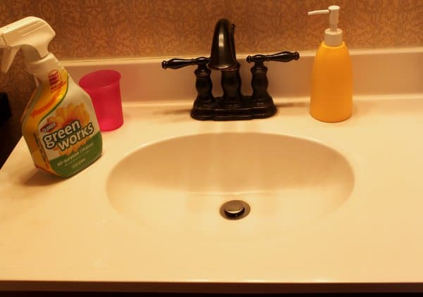 Clorox Green Works makes it Sparking Clean again
