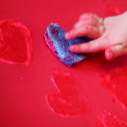 Sponge Art Painting for Toddlers