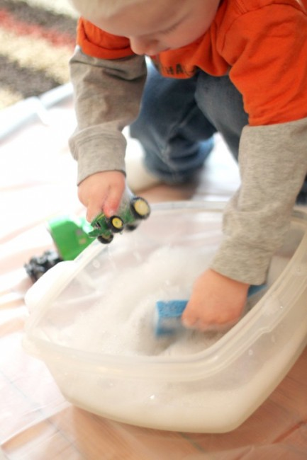 Washing Toys Water Activity for Toddlers