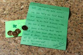 Help the Leprechaun Find His Gold