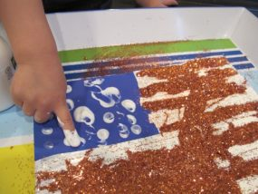 Hands on Art Activity for Memorial Day from Carrots Are Orange