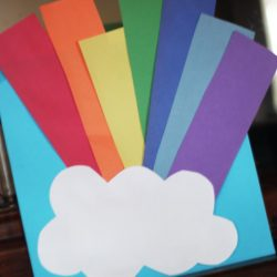 Rainbow Scavenger Hunt witd Clues