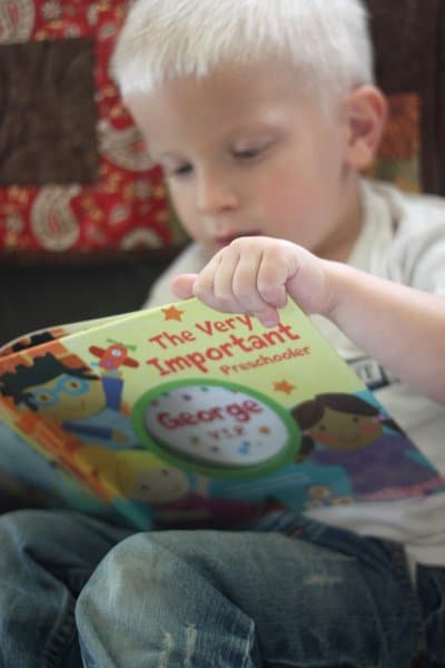 The Very Important Preschoolers, Personalized Books for Kids