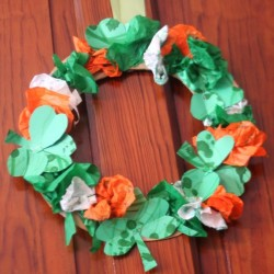 tdumbnail image for St. Patrick's Day Craft: Wreatd