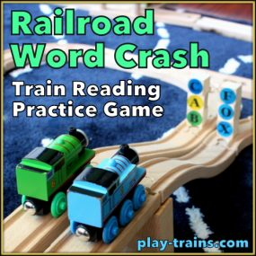 Railroad Word Crash: Train Reading Game from Play Trains!